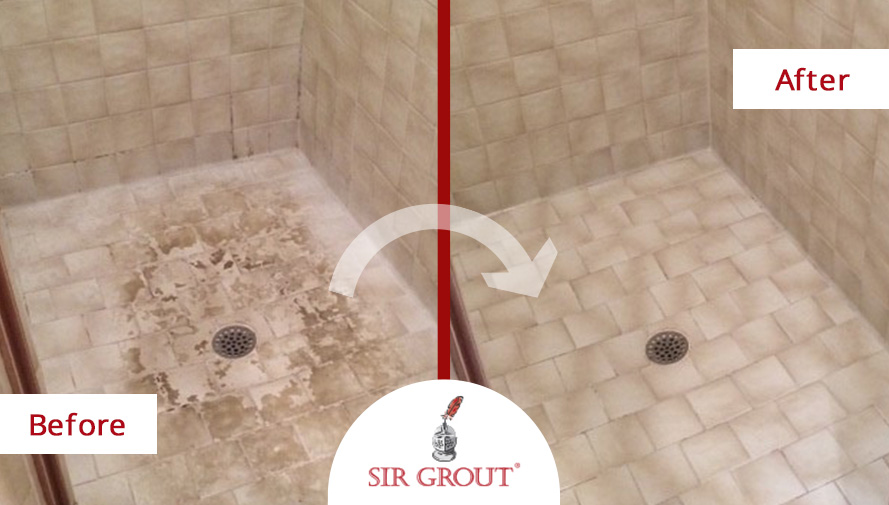 Sir Groutu0027s Tile Cleaning And Shower Renewal Is No Sweat For One Dallas  Customer